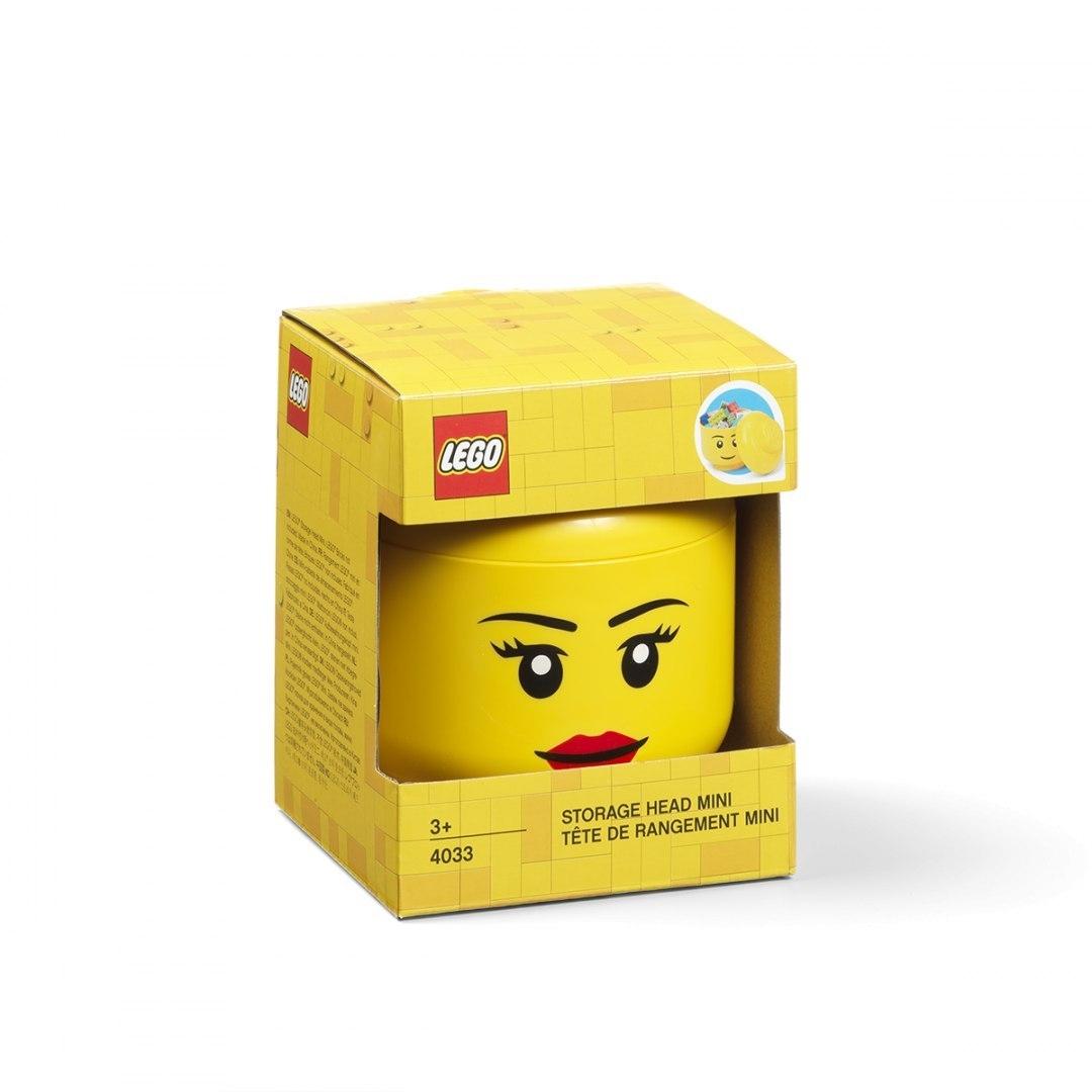 Pojemnik mini głowa LEGO® - Dziewczynka (40331725)